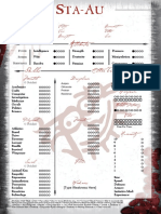 Ancient Bloodline - Sta-Au Sheet