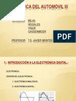 Electrónica Del Automóvil III