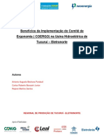 CT42 Artigo Beneficios Da Implementacao Do Comite de Ergonimia ELETRONORTE