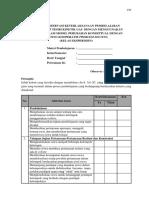 Lampiran B7 & B8 - Lembar Observasi RPP Kelas Eksperimen