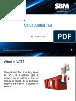 VAT - Brief Overview