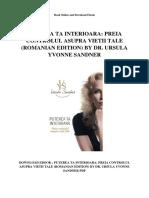 Puterea Ta Interioara Preia Controlul Asupra Vietii Tale Romanian Edition by Dr Ursula Yvonne Sandner