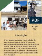 Caderno das Culturas de Acupe