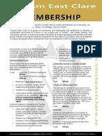 Membership Outline 2018