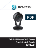 Full HD 180-Degree Wi-Fi Camera - DCS-2530L