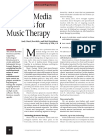 Multiple Media Interfaces for Music Therapy