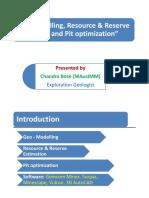 geomodellingresourcereserveestimationusingminingsoftware-130913065830-phpapp01