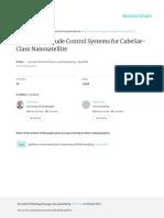 DesignofcontrolsystemsforCubeSat-classnanosatellite