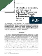 Effectuation, Causation,Bricolage.pdf
