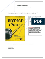 print advert market research