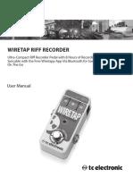 Wiretap Riff Recorder m En
