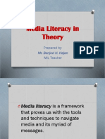 Media Literacy, Information Literacy, And MIL