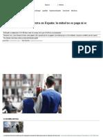 Radiografía de Las Horas Extra en España_ La Mitad No Se Paga Ni Se Recompensa