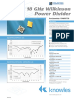 18 GHz Power Divider Press 462588