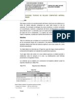 Especificaciones Tecnicas de Materiales