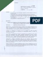 Ordenanza Sobre Ocupación de Bienes Nacionales de Uso Publico de La Comuna de Cabildo