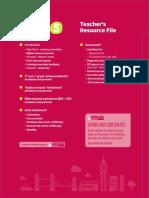 Teacher's Resource File