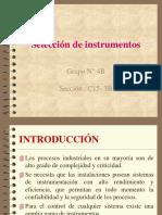 4.2 Seleccion Instrumentacion Industrial