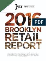 2016 Brooklyn Retail Report