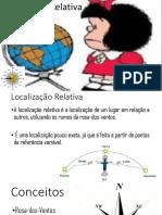 Localização relativa