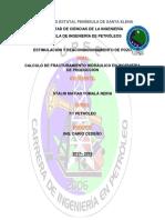 Calculo de Fracturamiento Hidráulico en Ingeniería de Producción