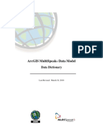 ArcGIS MultiSpeak Data Model - Data Dictionary