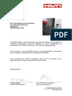 Cartas de Softwares