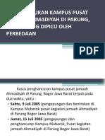 Penghancuran Kampus Pusat Jamaah Ahmadiyah Di Parung,