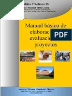 manual de elaboración y evaluación de proyectos 2004