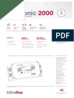 Minisonic2000 - Datasheet