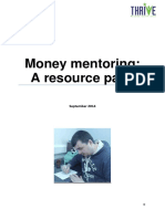 Money Mentoring Resource Pack