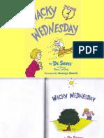 Wacky Wednesday - Dr. Seuss
