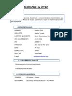 Curriculum Aguilar Osilia
