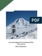Plan de Emergencia Erupciones Volcanicas.