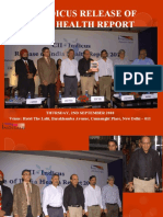 Release of India Health Report
