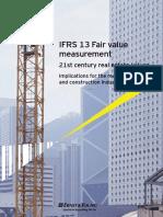 IFRS 13 RE Fair Value Measurement