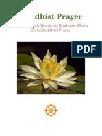 The Buddha's Words on Kindness (Metta Sutta)Buddhist Prayer