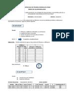Protocolo de Prueba Hidraulica - Desague Abierto S-1