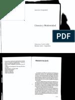 Ciencia y modernidad - Juan José Sanguineti (Primera Parte).pdf
