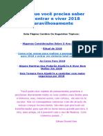 2018 Mantras