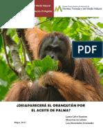 Gestión de Especies Trabajo Orangután