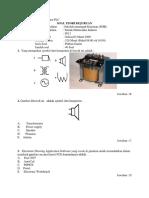 Latihan Soal Ujian Komponen PLC
