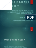 1. Introduction to World Music