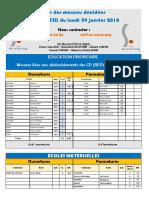 Proposition de carte scolaire dans le Puy-de-Dôme