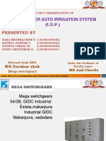 DS 2 Group No - 30 (682,683,689,691) Solar Power Auto Irrigation System