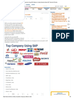 Top Companies Using SAP Software in India _ Module _ About SAP Tutorial _ STechies