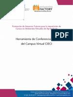 Manual de La Herramienta de Conferencia Web