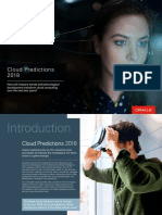2018 Cloud Predictions Oracle
