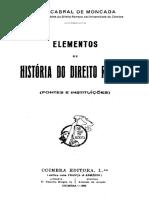 Elementos de História do Direito Romano - Luís Cabral de Moncada.pdf