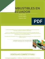 Biocombustibles en Ecuador